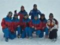 Skikurs das Team